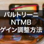NTMB gain adjustment2